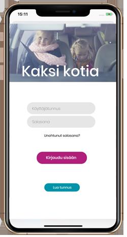 Kaksi kotia -mobiilisovellus — ETKL